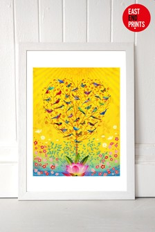 The Sound of Sunshine by Fiona Watson Framed Print