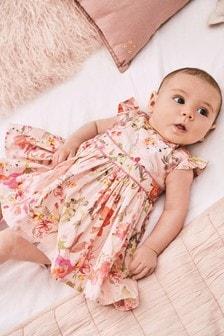 Zestaw: sukienka balowa i majtki (0m-cy-2lata)