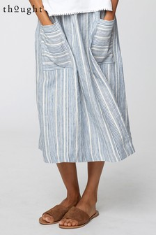 Thought Blue Luis Skirt
