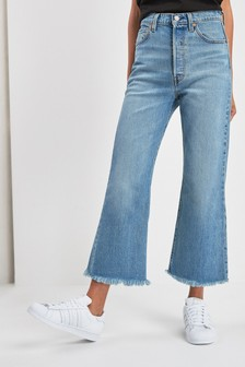 Levi's® Ribcage Crop Flare In On The Rocks