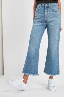 Levi's® On The Rocks Kurz geschnittene, ausgestellte Jeans