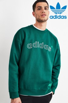 adidas Originals Green 90s Train Crew