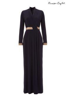 Phase Eight Blue Julietta Maxi Dress