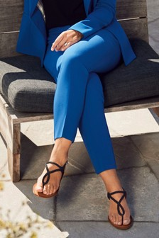 Emma Willis Relaxed Cropped Slim Trousers