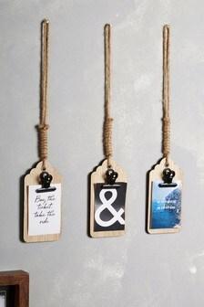 Set of 3 Travel Hanging Decorations