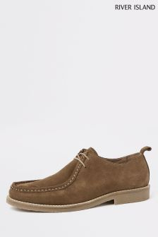 River Island Brown Suede Shoe