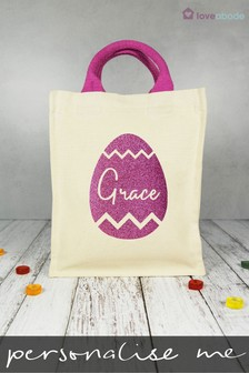 Personalised Easter Egg Bag by Loveabode