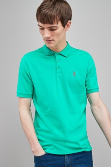 43f7fd45 Buy Men's tops Tops Green Green Poloshirts Poloshirts from the Next ...
