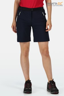 Regatta Blue Xert III Stretch Shorts