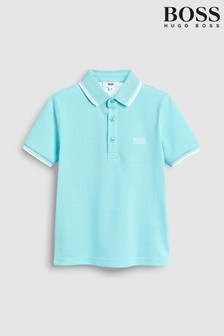 BOSS Turquoise Classic Polo