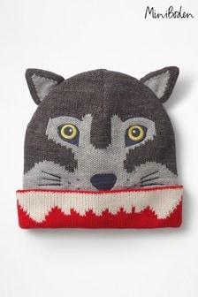 Boden Grey Wolf Hat