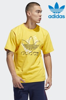 adidas Originals Yellow Trefoil Art Tee