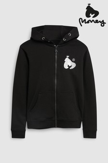 Money Block Signature Zip Hoody