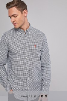 Gingham Check Regular Fit Shirt