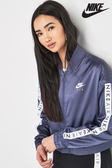 Nike Air Purple Satin Track Top