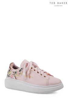 Ted Baker Pink Alibe 3 Floral Trainer