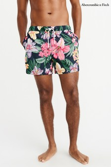 Abercrombie & Fitch Floral Print Shorts