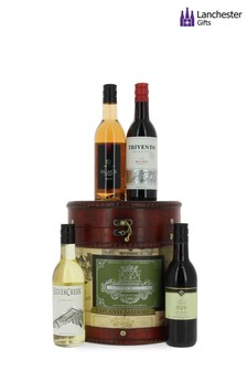 Wine Drum Gift Set by Lanchester Gifts