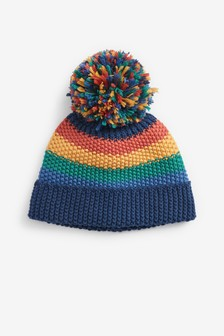 Rainbow Stripe Hat (0mths-2yrs)