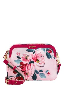 Cath Kidston® Pink Paintbox Flowers Aster Cross Body Bag