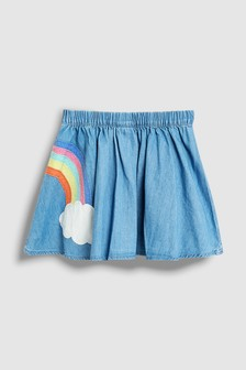 Unicorn And Rainbow Skirt (3mths-7yrs)