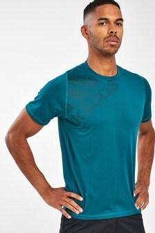 adidas Blue 4KRFT Tech T-Shirt