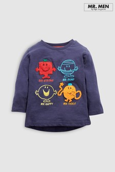 Four Box Bouclé Mr Men T-Shirt (3mths-8yrs)