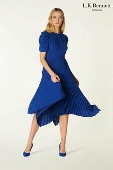 L.K.Bennett Blue Aveline Dress