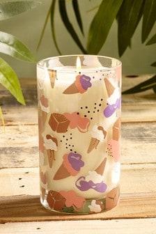 Salted Caramel Ice Cream Candle