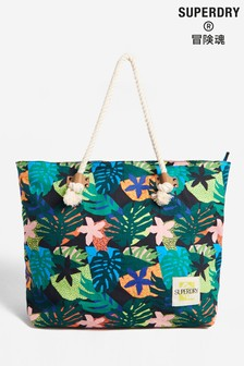 Superdry Printed Rope Tote Bag