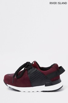 River Island Berry Camo Runner