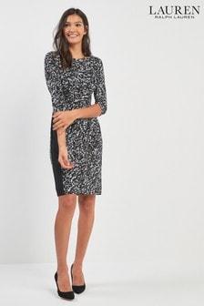 Lauren Ralph Lauren® Black Midi Dress