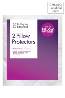 Set of 2 Essential Pillowsham Protectors by Catherine Lansfield