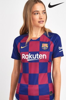 Nike Navy FC Barcelona 2019/2020 Women's Fit Home Jersey