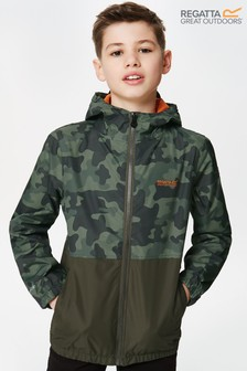 Regatta Green Akiro Waterproof Jacket