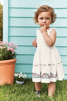 Embroidered Dress (3mths-7yrs)
