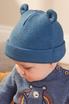 Bear Rib Hat (0mths-2yrs)