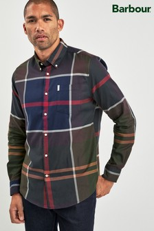 Barbour® Navy Dunoon Shirt