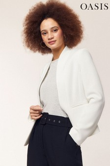 Oasis Cream Lucia Event Blazer