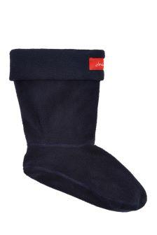 Joules Blue Molly Fleece Welly Socks