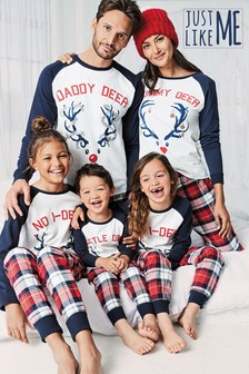 Women's Matching Family Reindeer Pyjamas