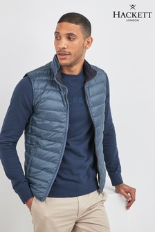 Hackett Blue Reversible Gilet