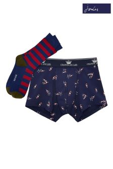 Joules Blue Sock Gift