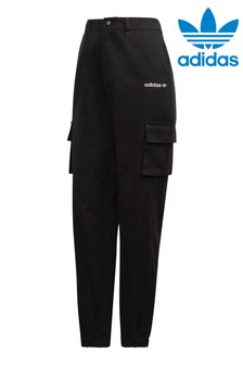 adidas Originals Tech High Waisted Cargo Joggers