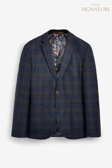 Angelico Signature Check Blazer