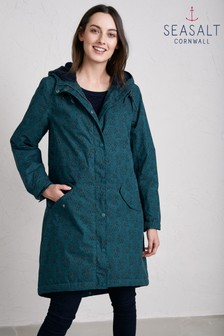 Seasalt Green Plant Hunter 2 Lino Coat