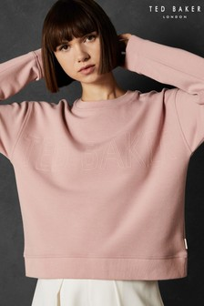 Ted Baker LOLII Pink Slogan Sweater