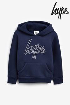 Hype. Outline Zip Script Hoody