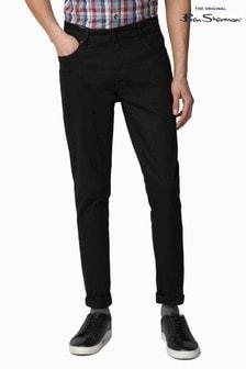 Ben Sherman® Black Slim Taper Jeans
