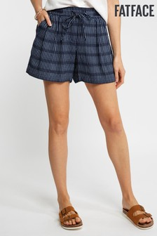 FatFace Blue Stripe Flippy Short